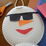 Florida Snowman Craft! A Fun Family Activity That Doesn't Melt!