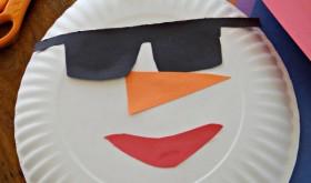 Florida Snowman Craft! A Fun Family Activity That Doesn't Melt!