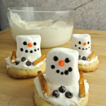 Melting Snowman Sugar Cookies, A Fun Hands On Holiday Dessert! #TheDessertDebate