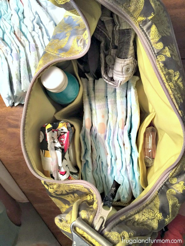 Top five things to carry in a diaper bag