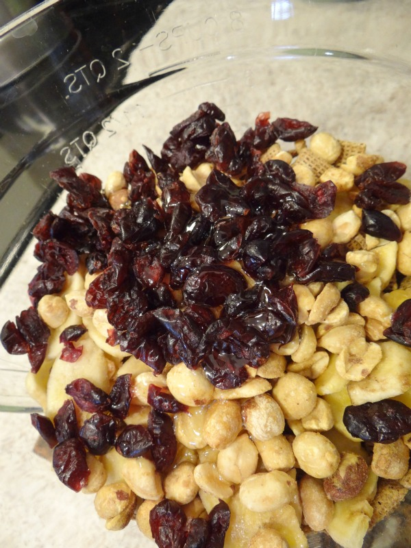 Animal Chow Trail Mix Recipe Mixture