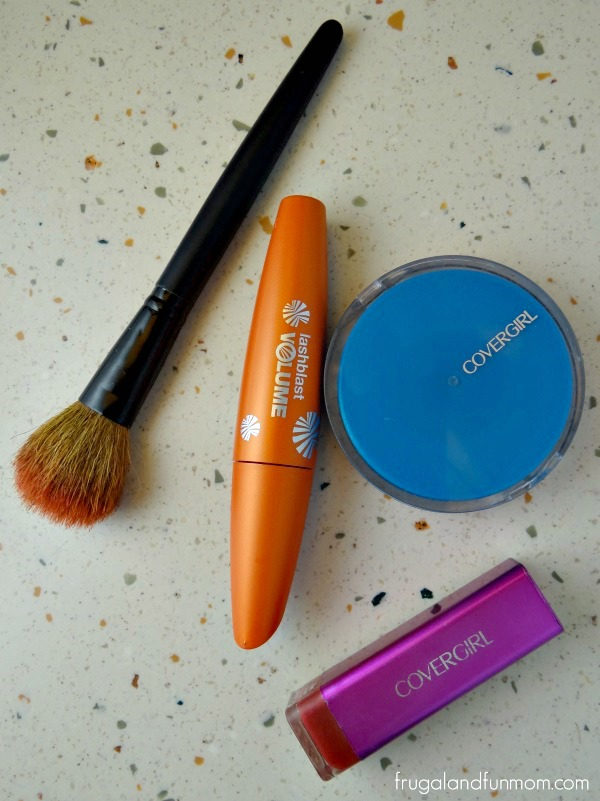 COVERGIRL products with LashBlast Mascara