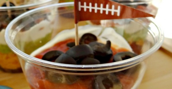 Kid Friendly Seven Layer Dip and Traditions for the BIG GAME! #GameDayTraditions