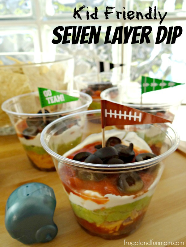 Individual 7 Layer Dip for Chips