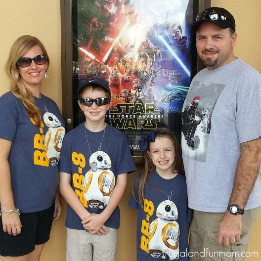 Matching Star Wars Shirts