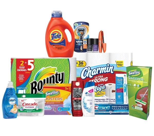 P&G beauty and grooming products