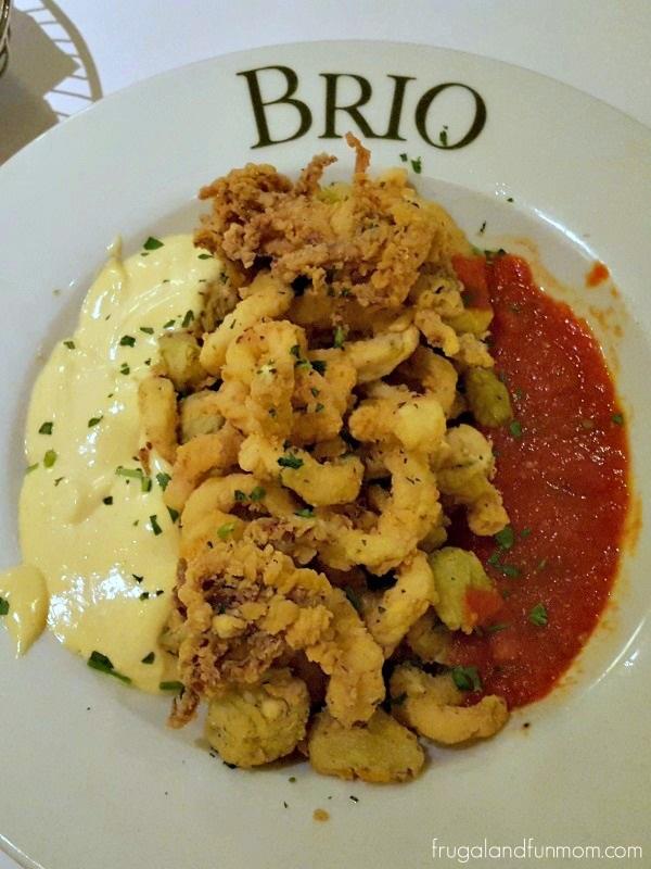 BRIO Tuscan Grille Calamari