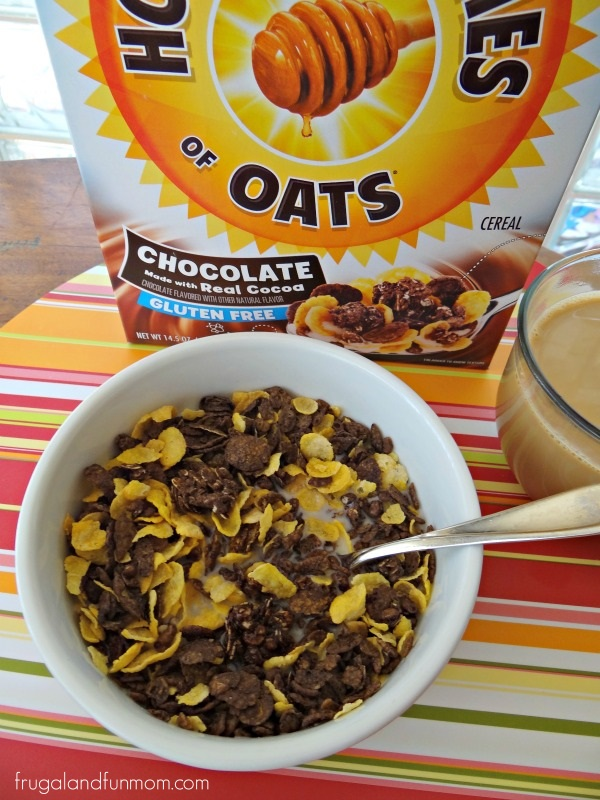Honey Bunches of Oats Chocolate Cereal with Milk
