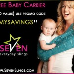 FREE Seven Slings Baby Carrier Shipped for $11.95!