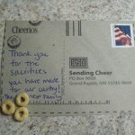 Send Cheer To Military Families With Cheerios! Plus, Enter The Cheerios Prize Pack Giveaway!
