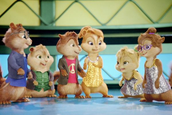 Alvin and the Chipmunks with Alvin Simon Theodore and the chipettes