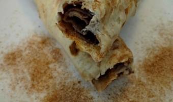 Cinnamon Bun Flautas Dessert! Easy Baked Recipe, Also Great for Breakfast!