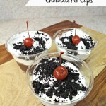Cookies 'n Cream Chocolate Pie Cups! #AddCoolWhip For Easy Kids Desserts!