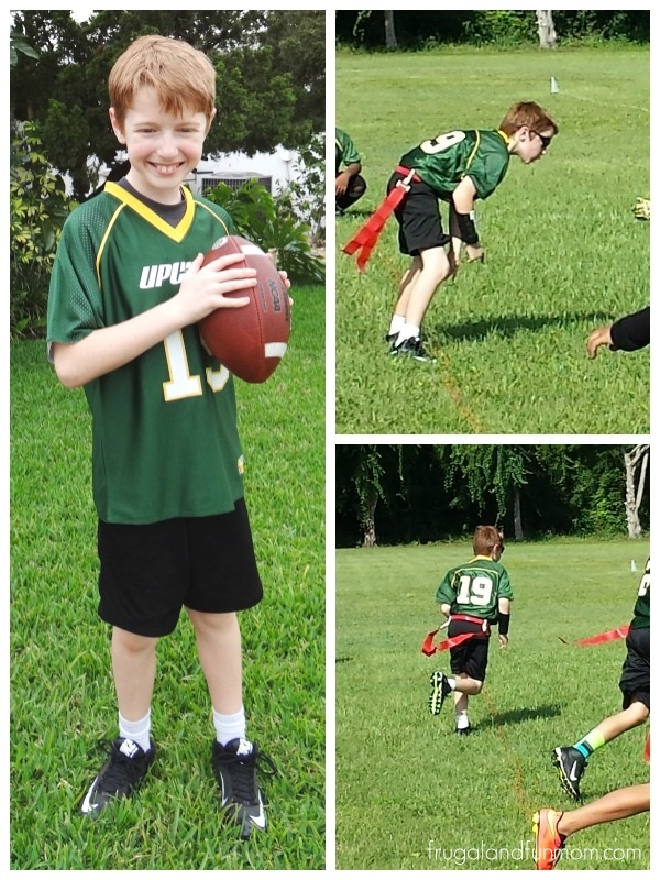 Football player at Upward.org