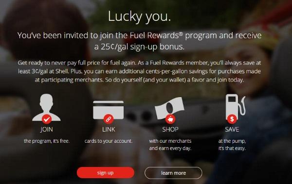 Fuel Rewards $25 Cents offer
