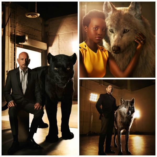 Jungle Book Event Interviews with Lupita Nyong'o, Sir Ben Kingsley, and Giancarlo Esposito