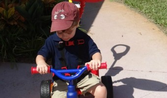 Little Tikes 4-in-1 Trike Review!  It Promotes Exercise and Grows With Your Child! #TeamLittleTikes