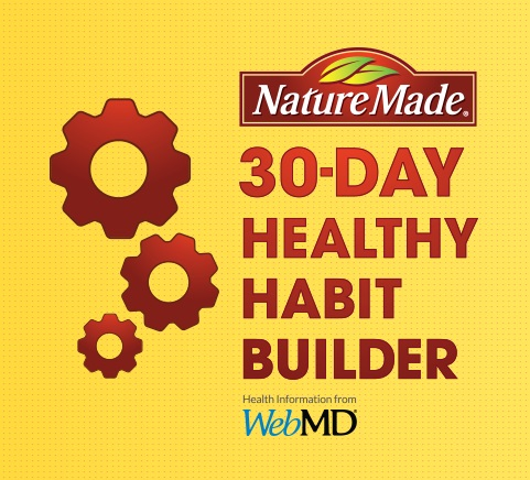 Nature Made 30-Day Healthy Habit Builder Program