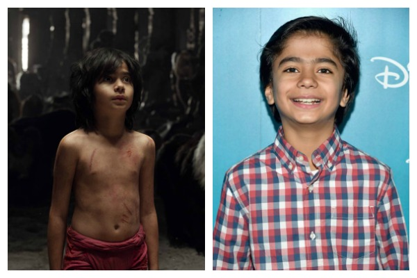 Neel Sethi who plays Mowgli in The Jungle Book