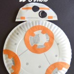 Star Wars Inspired Paper Plate BB-8 Droid With $50 Fandango Gift Card Giveaway! #TheForceAwakens