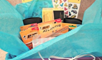Teacher Appreciation Gifts Featuring Bic Products! Plus A Prize Pack Giveaway!