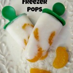 Tropical Smoothie Kefir Freezer Pops! #KefirCreations 3 Ingredient Recipe!