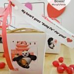Kung Fu Panda 3 Valentine's Day Chinese Take Out Boxes! #FandangoFamily #KungFuPanda