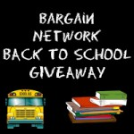 Bargain Network Back to School Giveaway Event!