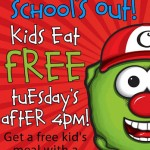 Kids Eat FREE at Crispers!