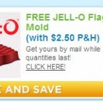 FREE Jello Flag Mold, Just Pay Shipping!