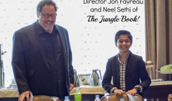Strength In Family: An Interview With Director Jon Favreau and Neel Sethi of The Jungle Book!