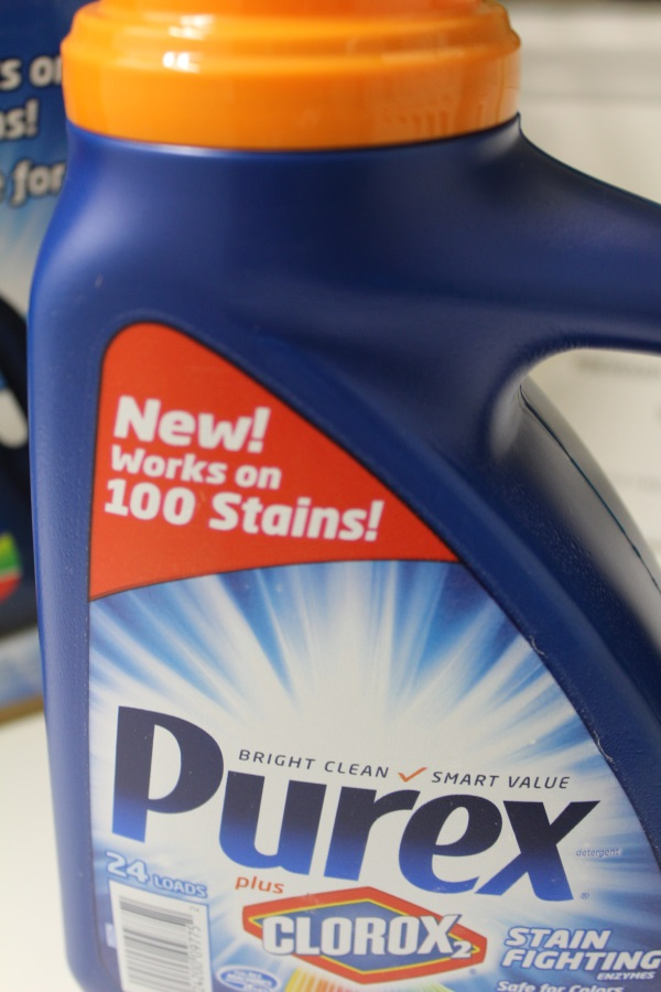 Purex plus Clorox2 Stain Fighting enzymes