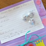 Tell Mom How Special She Is With A Mother's Day Recipe Card Pouch Craft!
