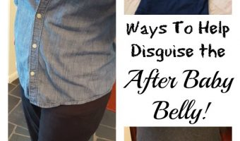 "Undercover Mama and Ways To Help Disguise ""The After"" Baby Belly!"