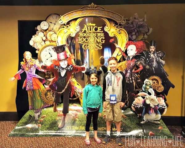Alice Through The Looking Glass screening at Disney Social Media Moms Celebration