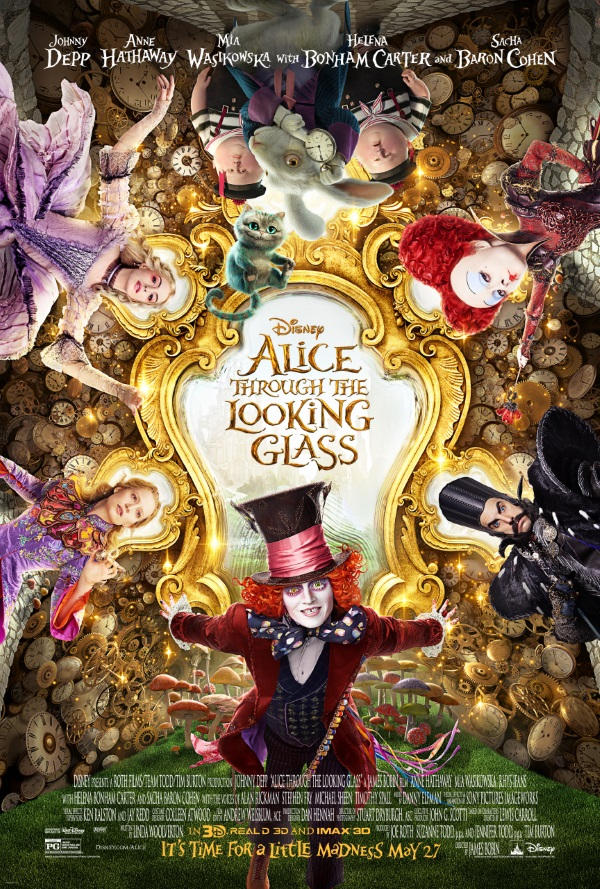 AliceThroughTheLookingGlass Poster