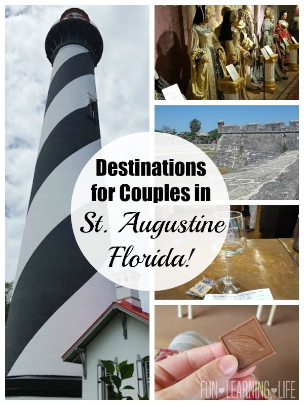 Destinations for Couples in St. Augustine