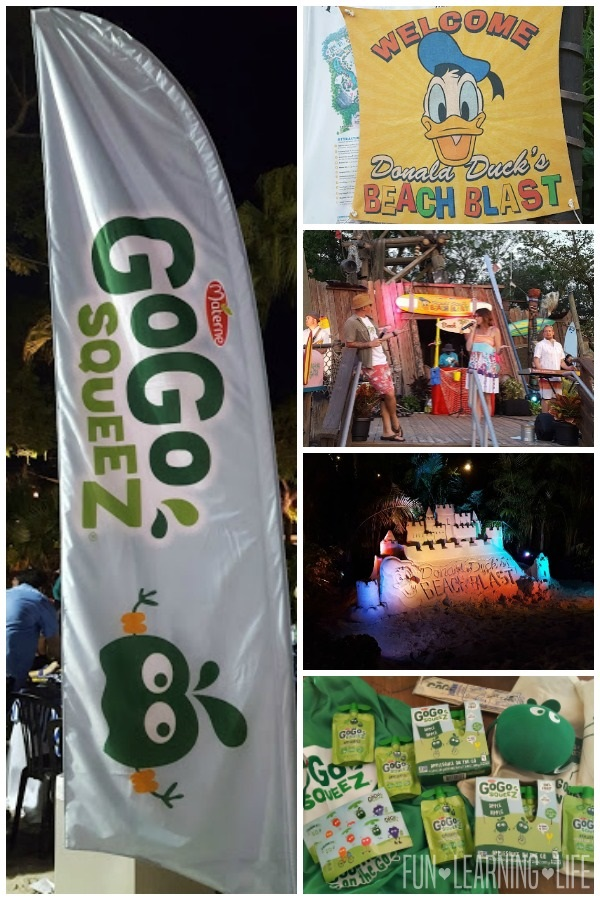 Go Go Squeez Beach Blast at Disney Social Media Moms Celebration