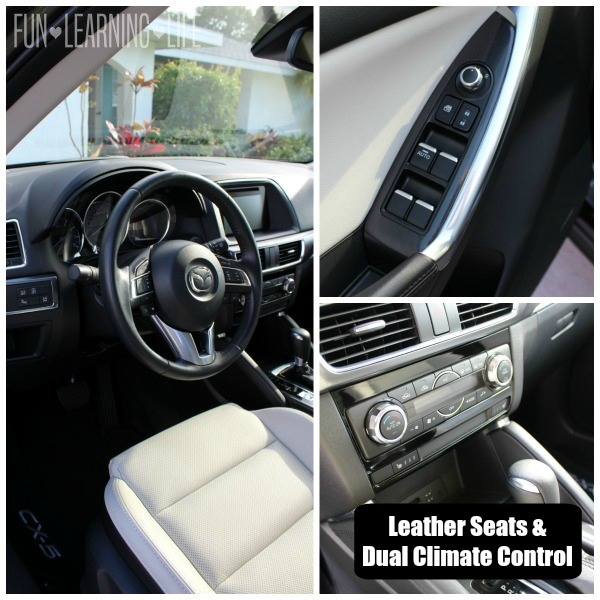 Interior views 2016 Mazda CX-5 Grand Touring AWD