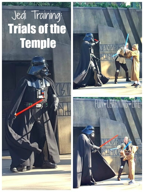 Jedi Training Trials of the Temple at Hollywood Studios