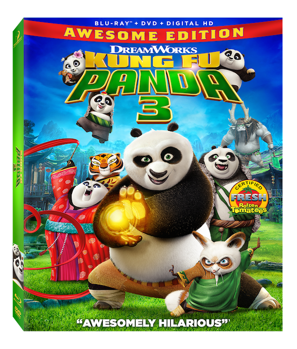KUNG FU PANDA 3 AWESOME EDITION DVD