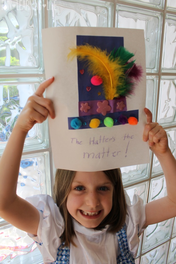 Mad Hatter Paper Hat Craft Project