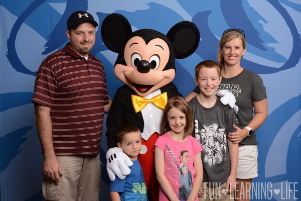 Mickey Mouse and Family at Disney Social Media Moms Celebration