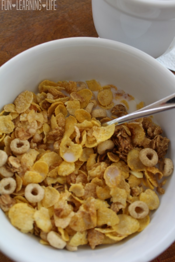 NEW Honey Bunches of Oats Crunch O's Almond Flavor in a Bowl