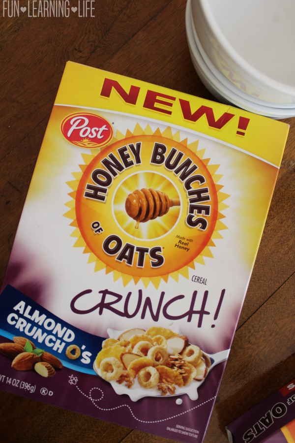 NEW Honey Bunches of Oats Crunch O's Almond Flavor
