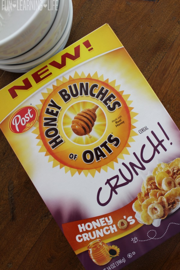 NEW Honey Bunches of Oats Crunch O's Honey Flavor