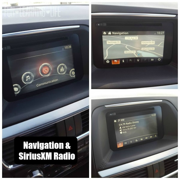 Navigation XM Radio Communications options 2016 Mazda CX-5 Grand Touring AWD