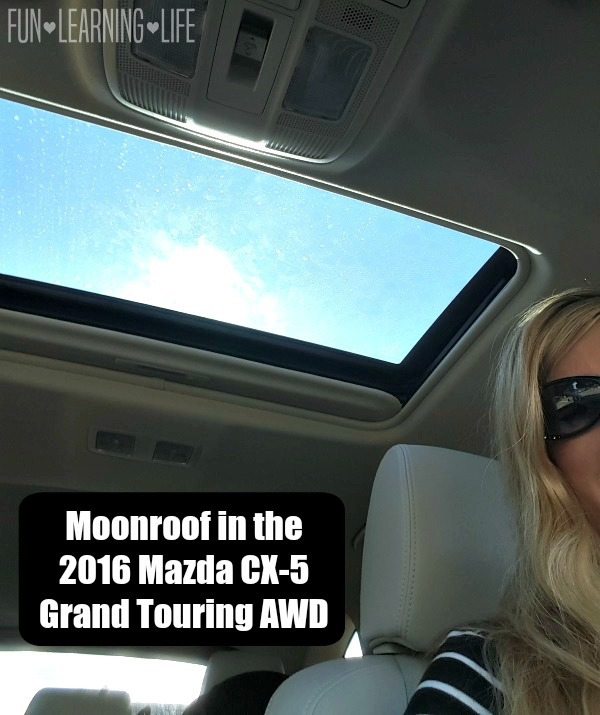 Power Moonroof in the 2016 Mazda CX-5 Grand Touring AWD