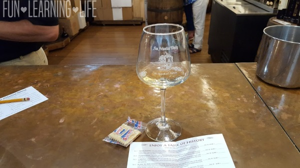 San Sebastian Winery St Augustine Tasting