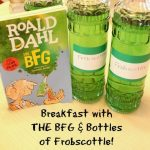 Breakfast with THE BFG and Bottles of Frobscottle!